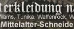 Banner zum verlinken mit der Mittelalter-Schneiderei