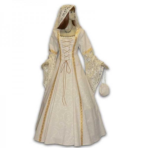 Mittelalter Hochzeitskleid nach Maß